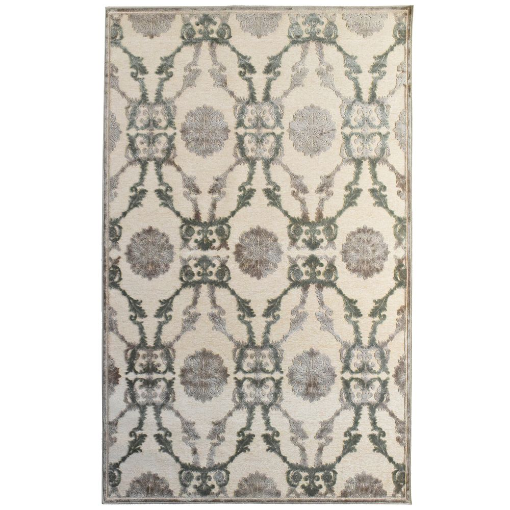 Ivory Amadeus 4 Ft. 2 In. x 6 Ft. Area Rug