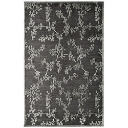 Lanart Rug Grace Grey 5 ft. x 7 ft. 6-inch Rectangular Area Rug