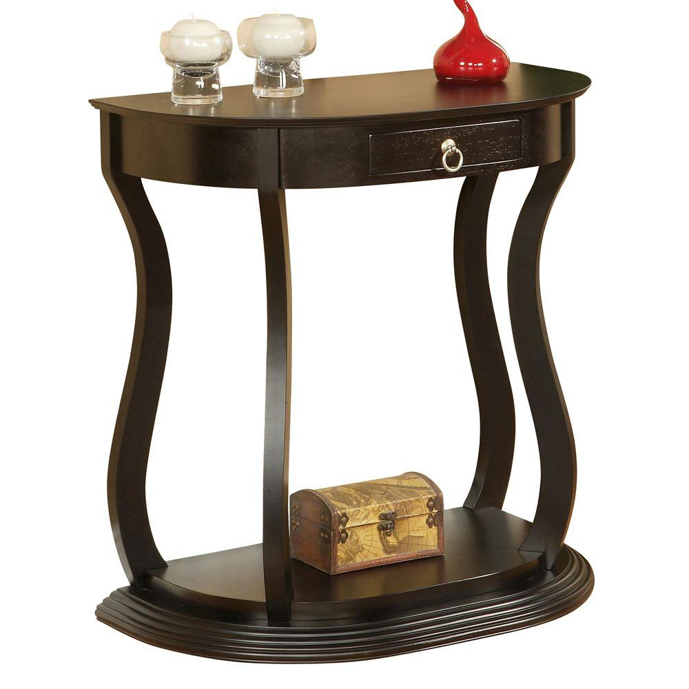 Ophelia-Console Table-Dark Walnut 502-339 Canada Discount