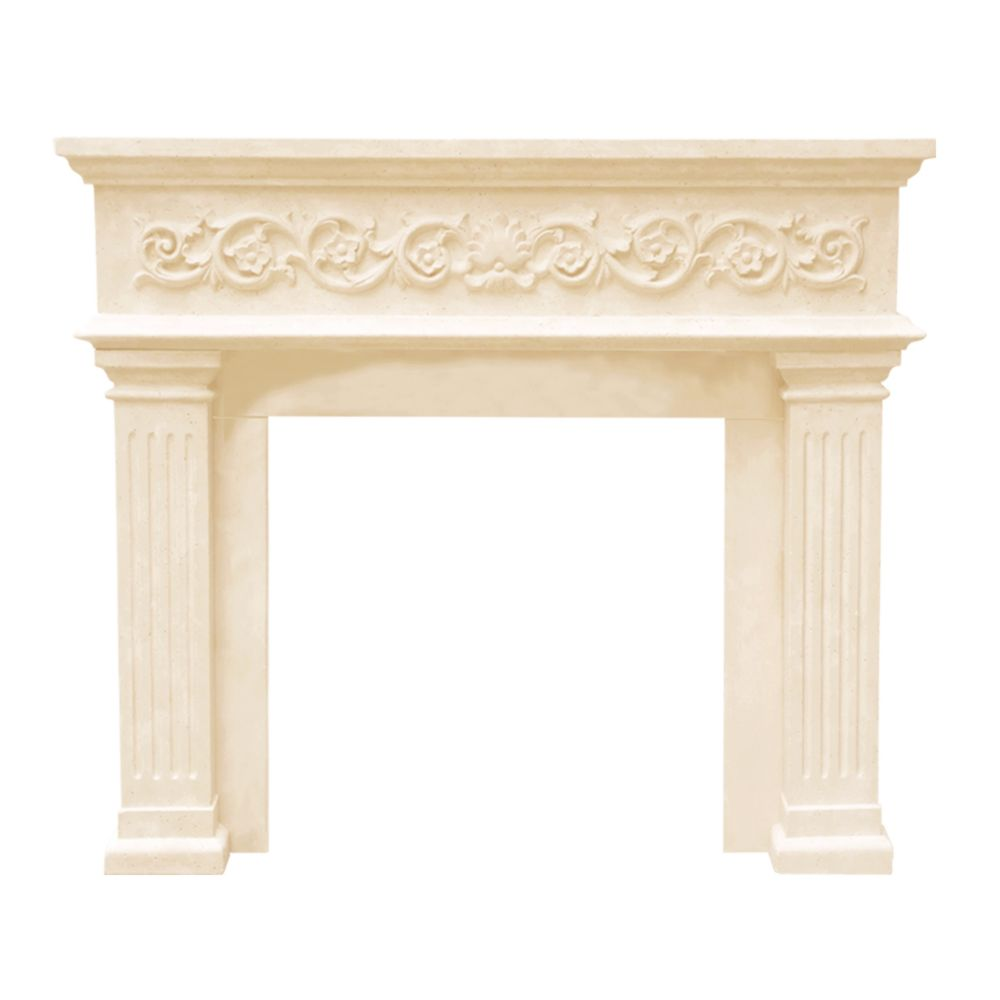 Historic Mantels Designer Series Michael Angelo Cast Stone Mantel