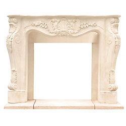 Historic Mantels Chateau Series Louis XIII Cast Stone Mantel