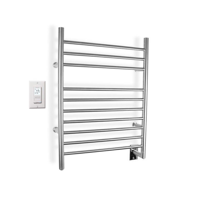 Infinity Brushed Stainless Steel Towel Warmer � 10 Bars