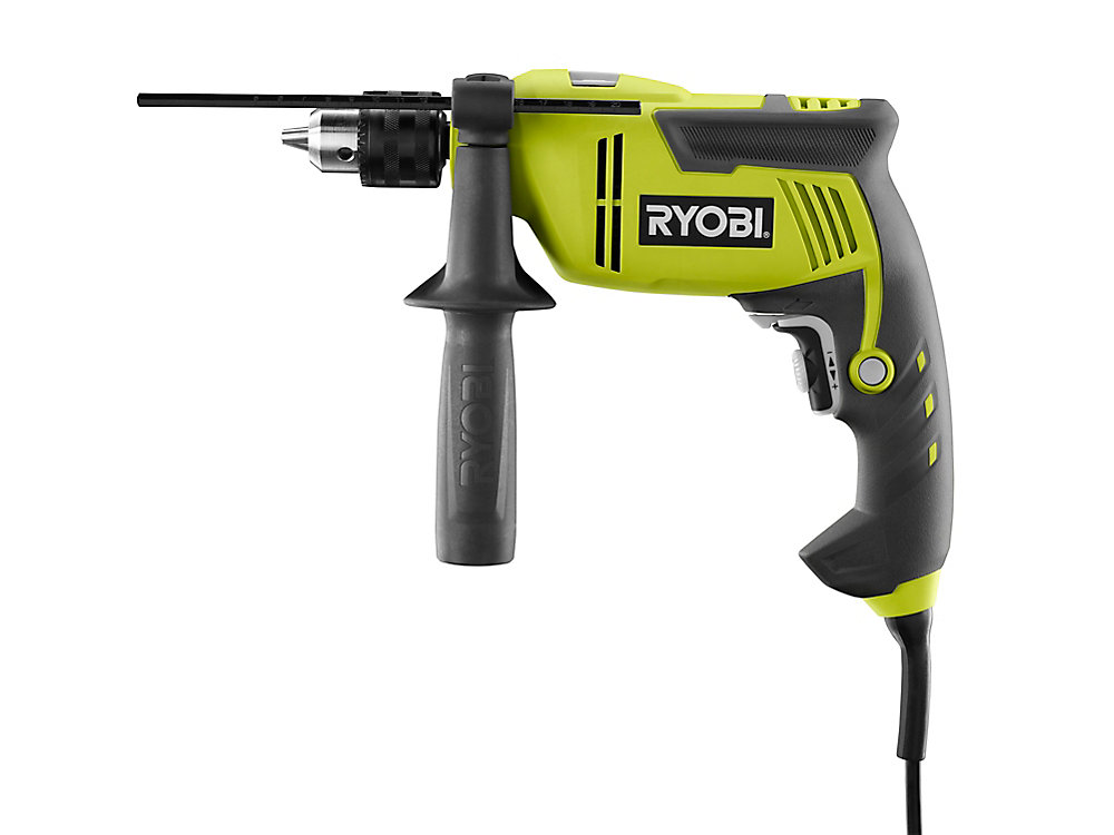 6 2 Amp 5/8 in  Variable Speed Reversible Hammer Drill