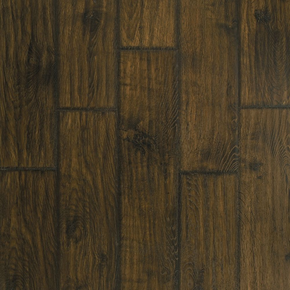 Somerton II 12mm Thick Rustic Barn Hickory Laminate Flooring (16.22 sq. ft. / case)