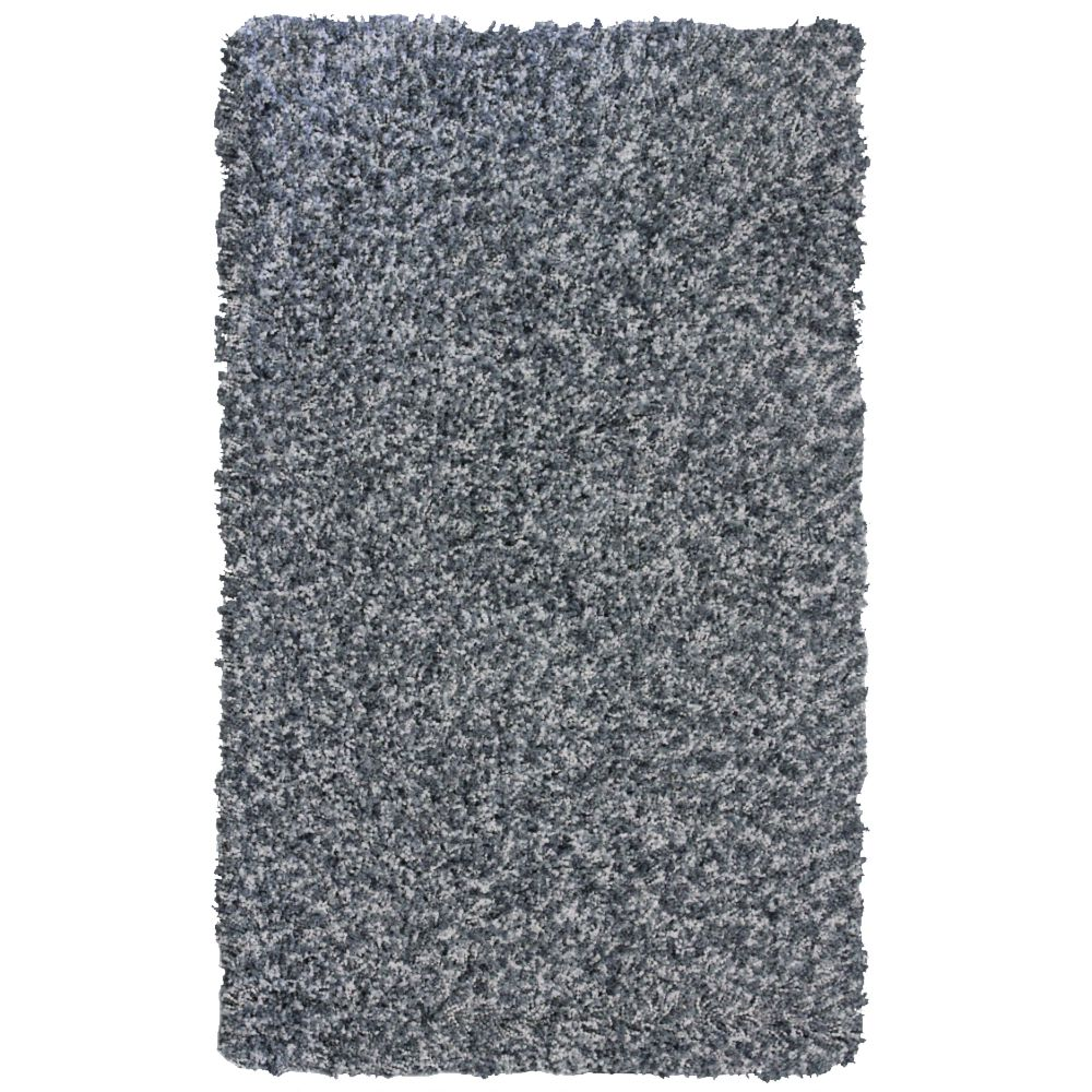 Grey Popcorn Shag Area Rug 5 Feet x 7 Feet 6 Inches