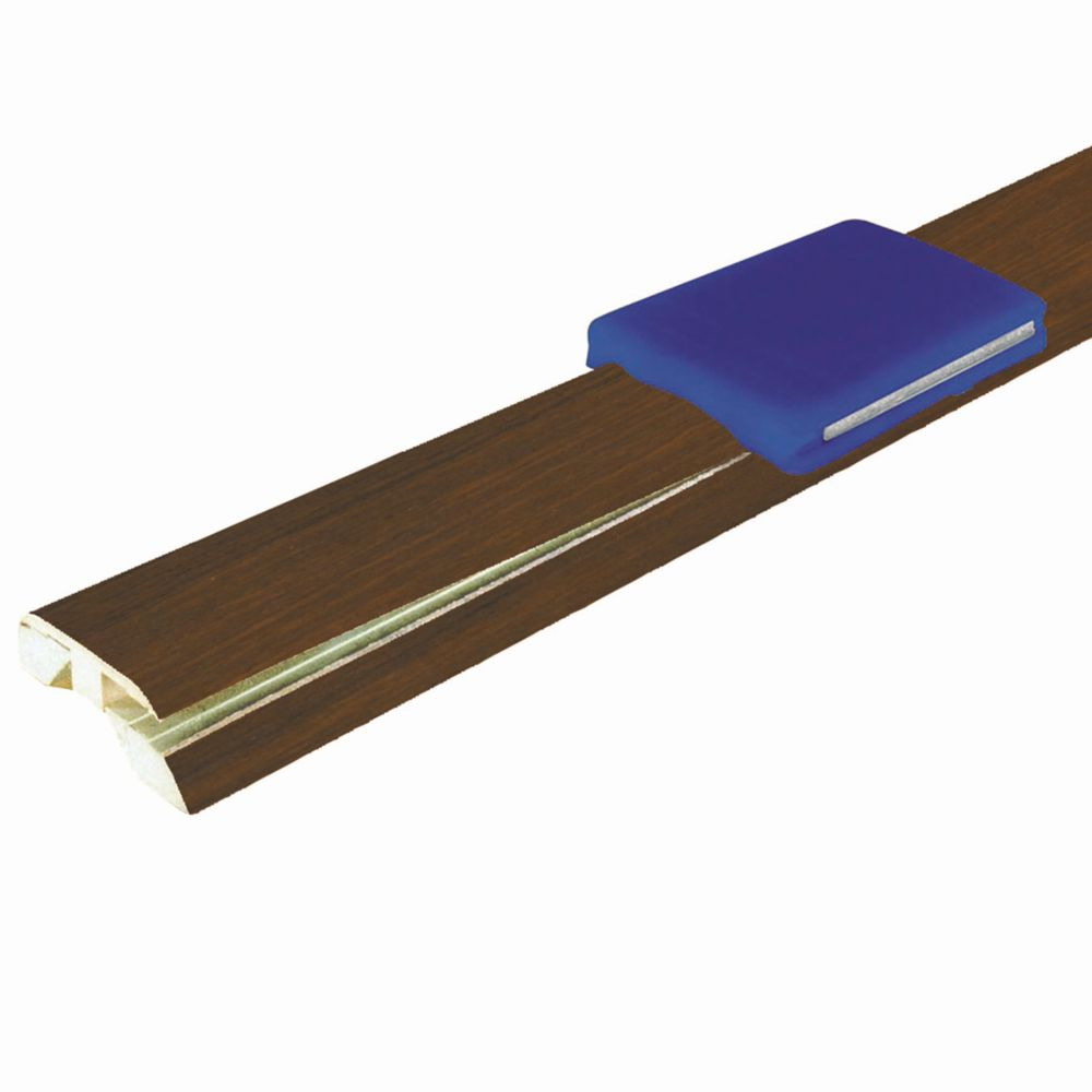 Tobacco Rosewood 4-in-1 Laminate Moulding  (Reducer, T-Moulding, Threshold)