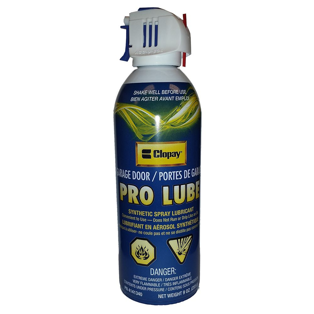 Clopay Clopay Pro Lubricant For Garage Door The Home