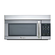 1.6 cu Feet Over the Range Microwave - Stainless