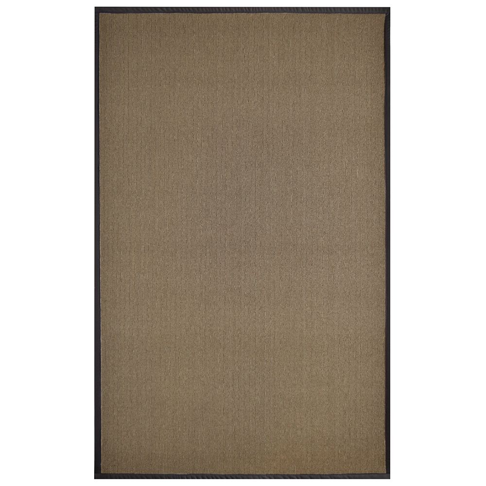 Sisal Chocolate 6 Ft. x 8 Ft. Area Rug
