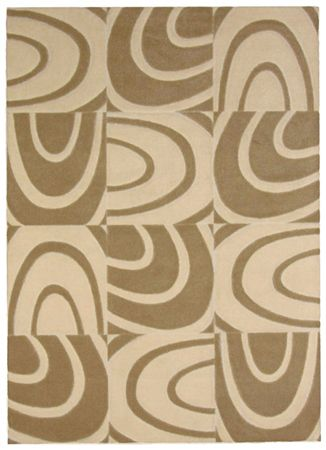 Windows Beige 8 Ft. x 10 Ft. Area Rug