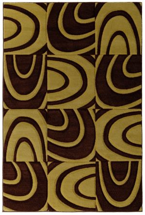 Windows Brown 9 Ft. x 12 Ft. Area Rug