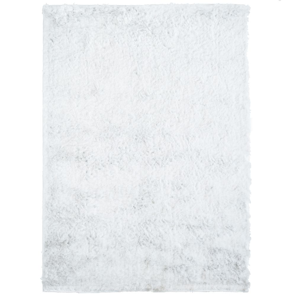 Silky White 6 Ft. x 8 Ft. Area Rug