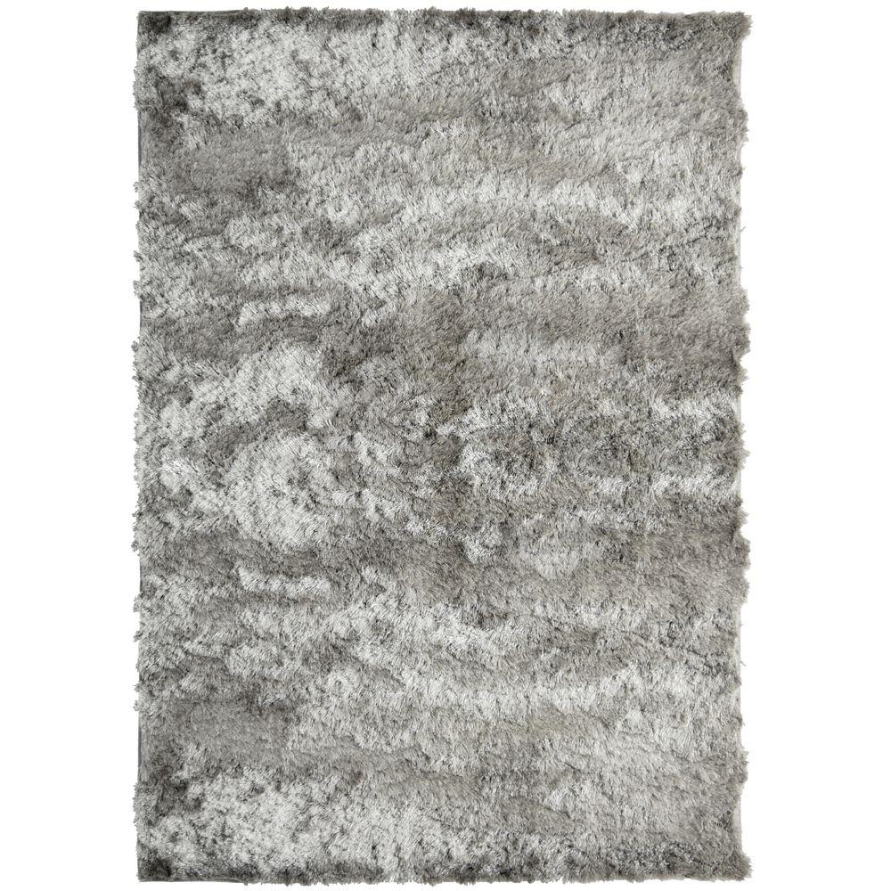 Silky Grey 6 Ft. x 8 Ft. Area Rug