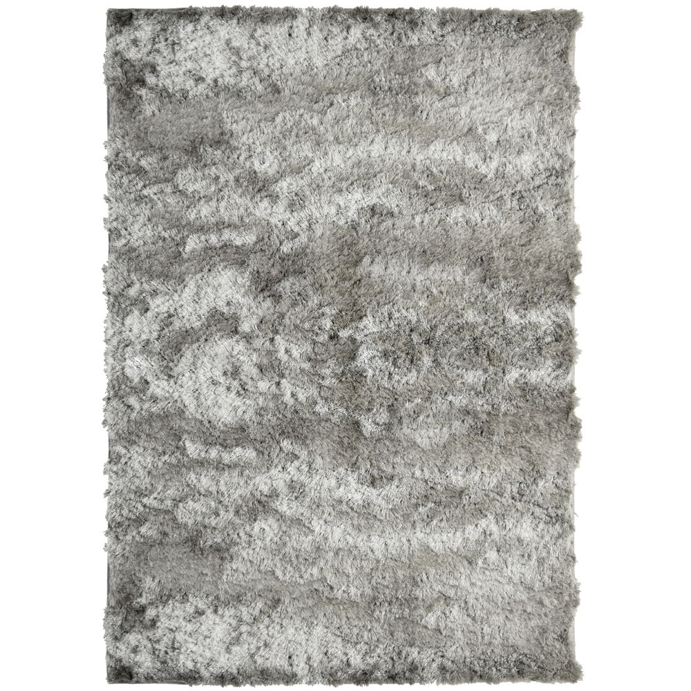 Silky Grey 8 Ft. x 10 Ft. Area Rug