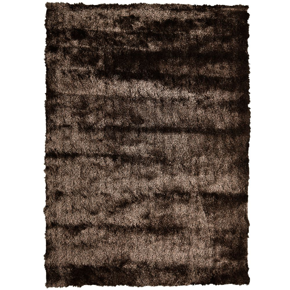 Silky Chocolate 5 Ft. x 7 Ft. Area Rug