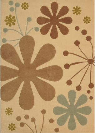 Tapis Urban Bloom Ivoire 2 Pi. x 8 Pi.