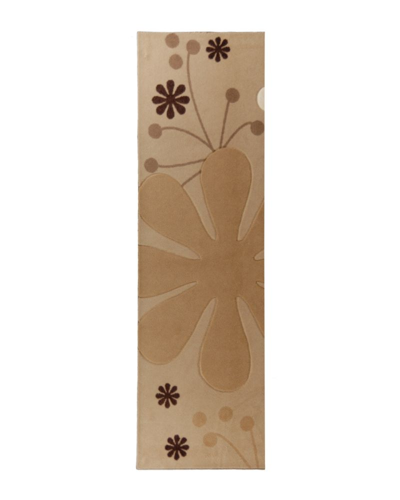 Urban Bloom Beige 2 Ft. x 8 Ft. Area Rug
