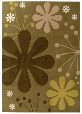 Urban Bloom Olive 2 Ft. x 8 Ft. Area Rug