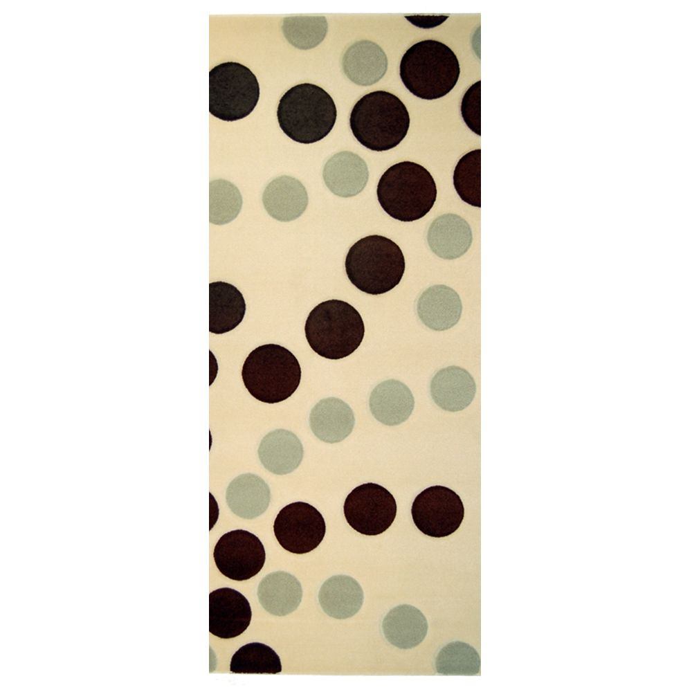 Coolio Ivory 2 Ft. x 8 Ft. Area Rug
