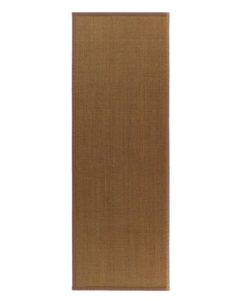 Natural Sisal Bound Sienna #65 2 Ft. 6 In. x 8 Ft. Area Rug