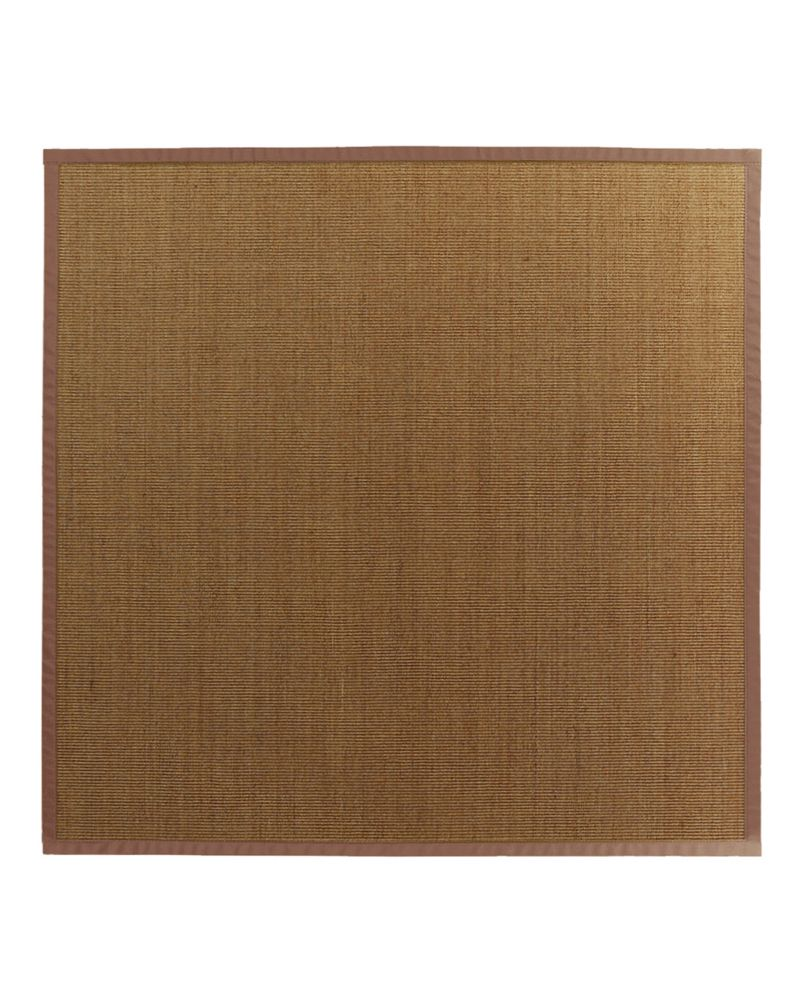 Natural Sisal Bound Sienna #65 8 Ft. x 8 Ft. Area Rug