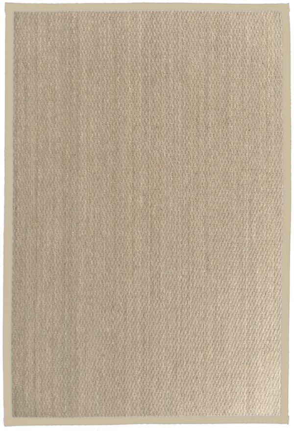 Cream Seagrass 4 Ft. x 6 Ft. Area Rug