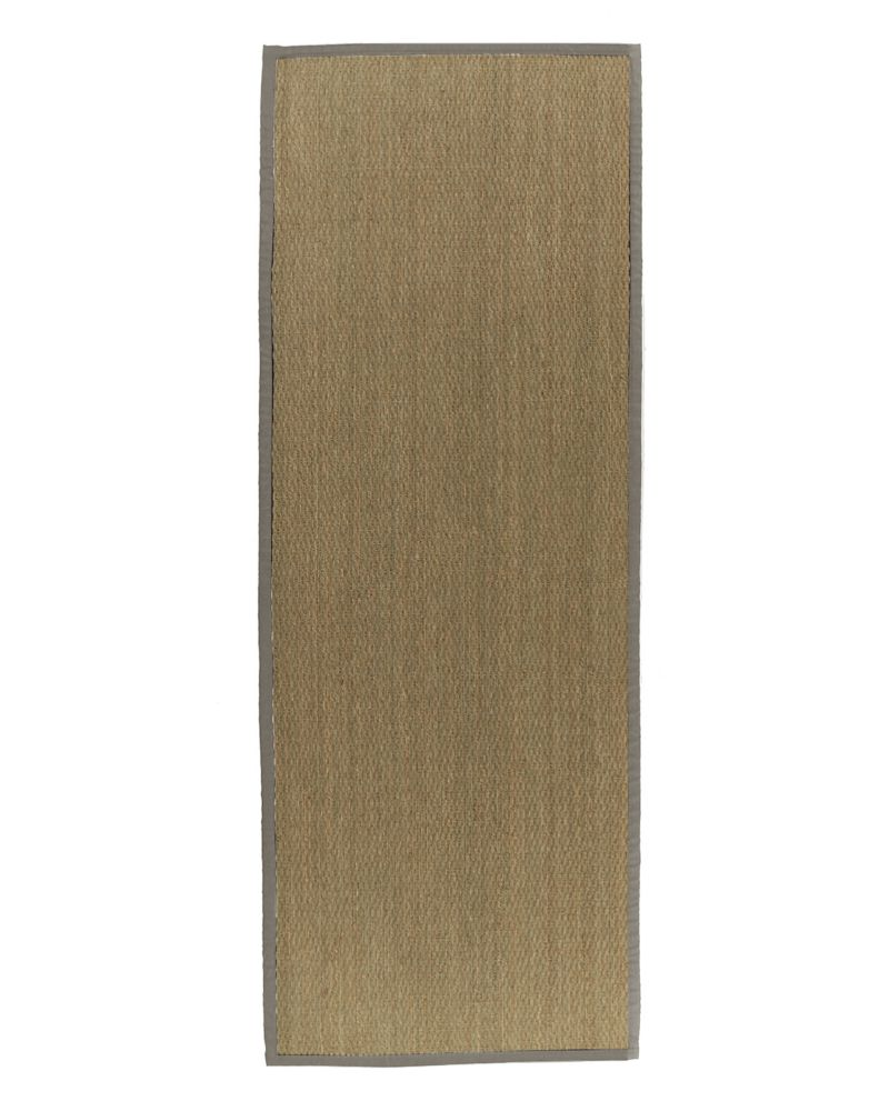 Natural Seagrass Bound Khaki #56 2 Ft. 6 In. x 8 Ft. Area Rug