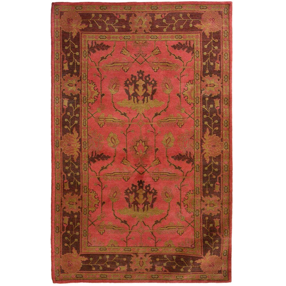 Ruby Antiquity 4 Ft. x 6 Ft. Area Rug