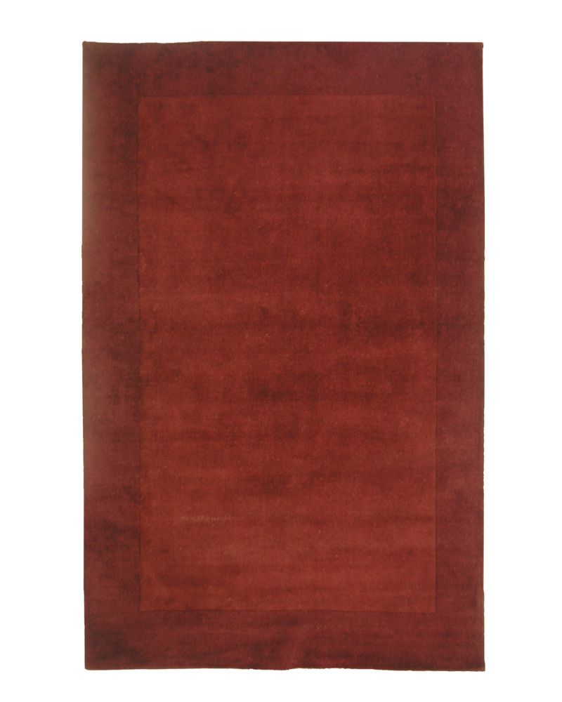 Merlot Hampton 5 Ft. x 7 Ft. Area Rug