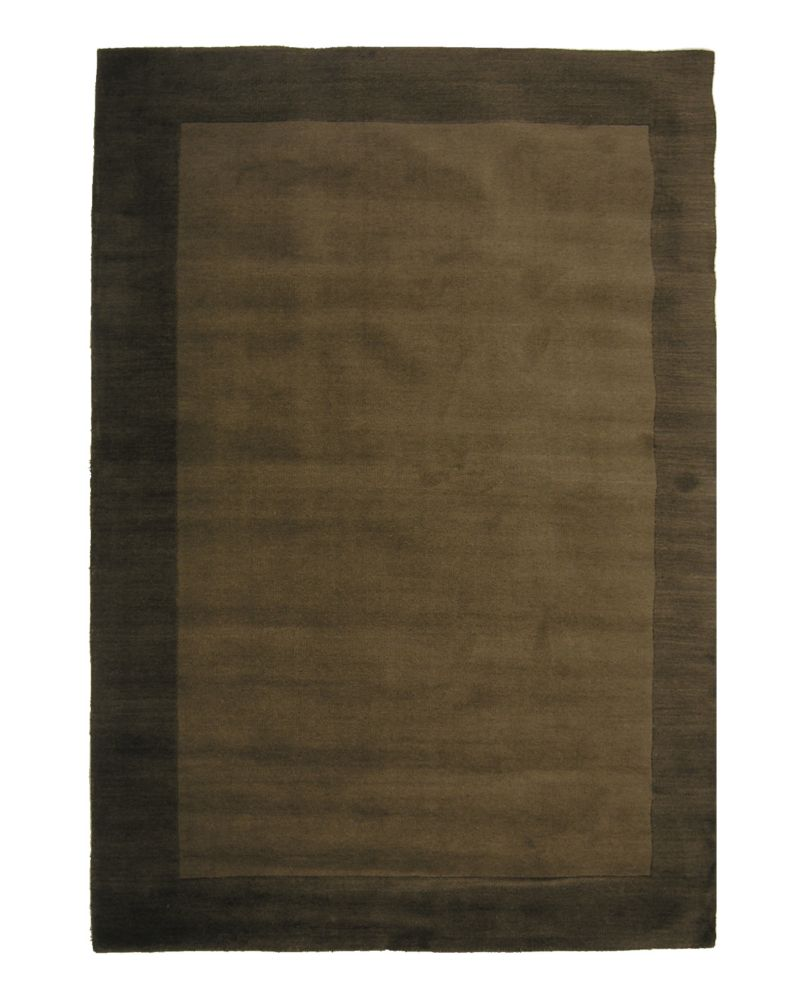 Espresso hampton 8 ft x 10 ft area rug hamp810es canada for Where to find inexpensive rugs