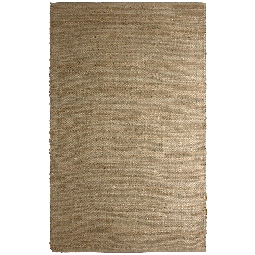 Natural Jute 5 Ft. x 8 Ft. Area Rug NATJUTE5X8 Canada Discount