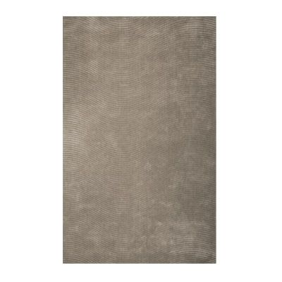 Grey Serenity Area Rug - 5 Feet x 7 Feet 6 Inches