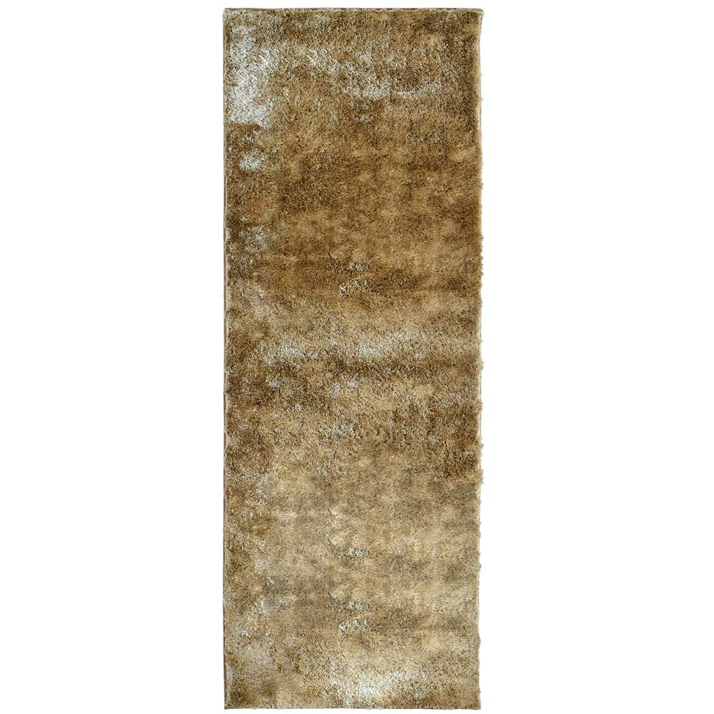 Gold Silk Reflections  2 Ft. 6 In. x 8 Ft. Area Rug