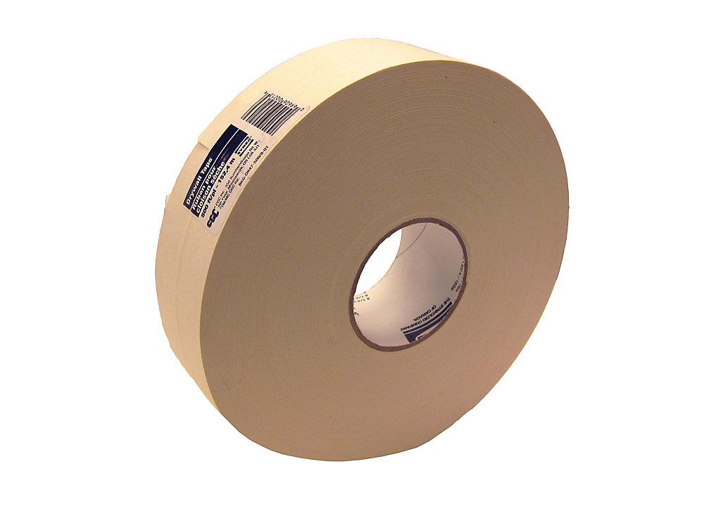 Ruban de cloison sèche en papier, rouleau de 2-1/16 po x 500 pi.