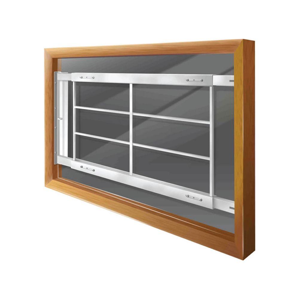 202 D 52-inch to 64-inch W Hinged Window Bar