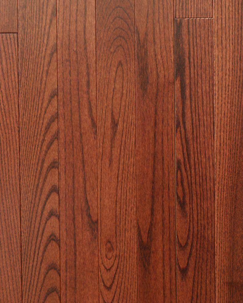 Ash-Syrah Solid Hardwood Flooring