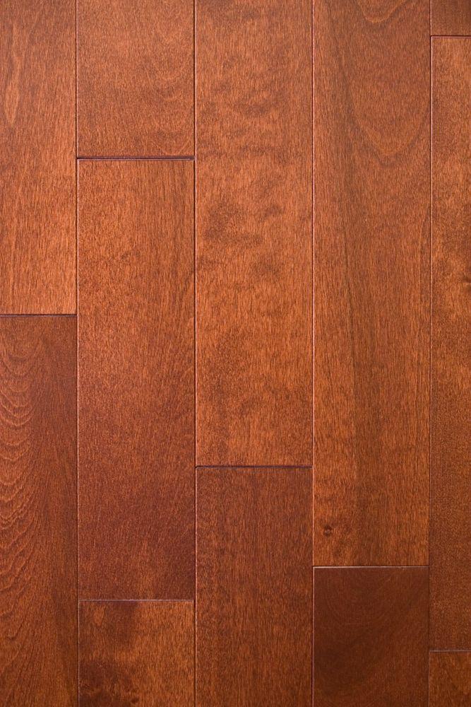 Birch-Paprika Solid Hardwood Flooring