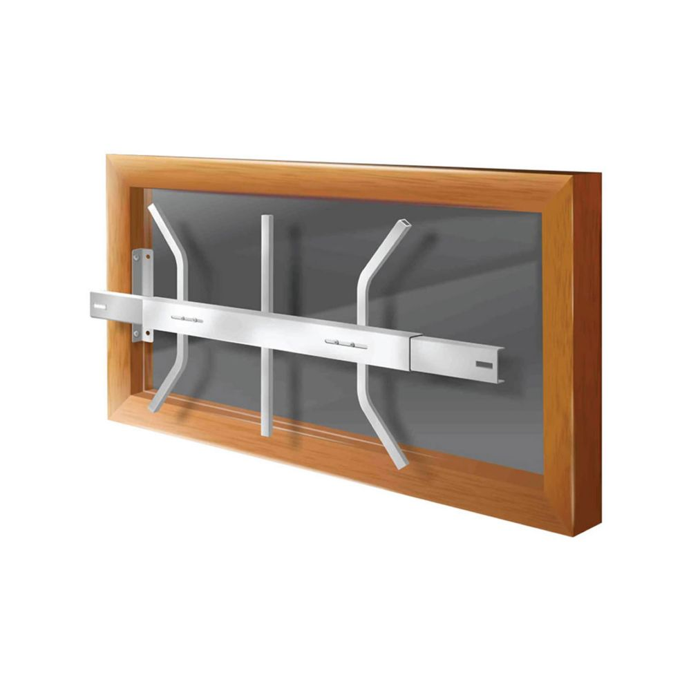 203 B 21-inch to 28-inch W Removable Window Bar