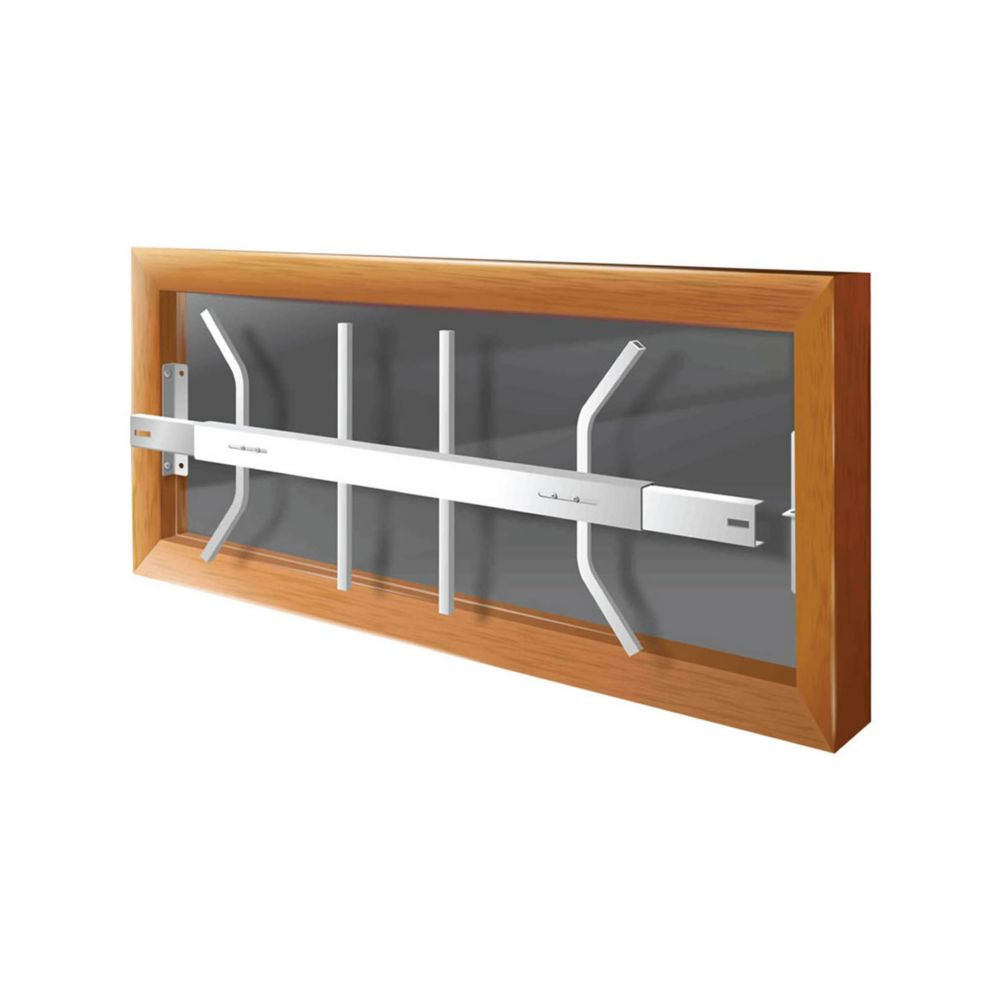 203 B 29-inch to 42-inch W Removable Window Bar