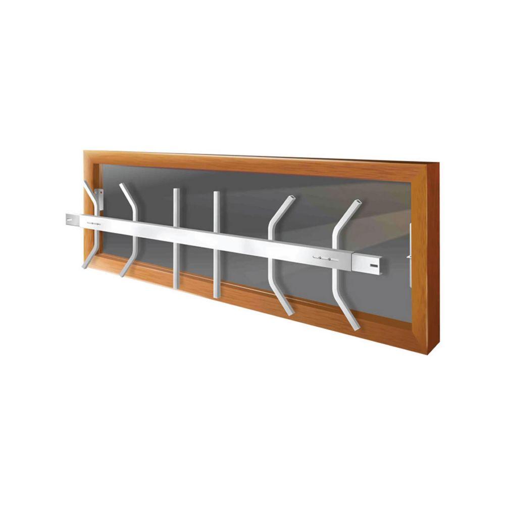 203 B 42-inch to 54-inch W Removable Window Bar
