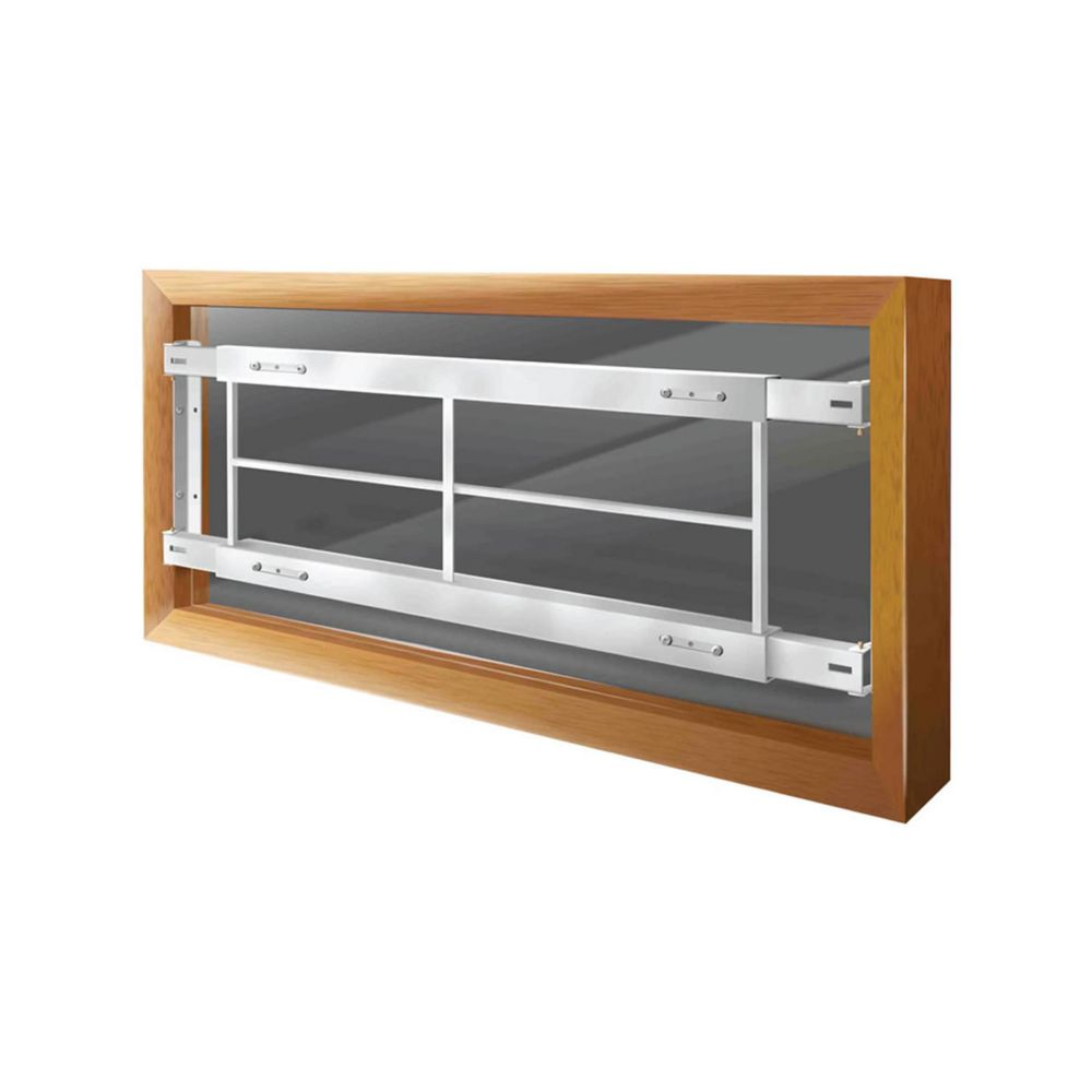 201 C 62-inch to 74-inch W Fixed Window Bar