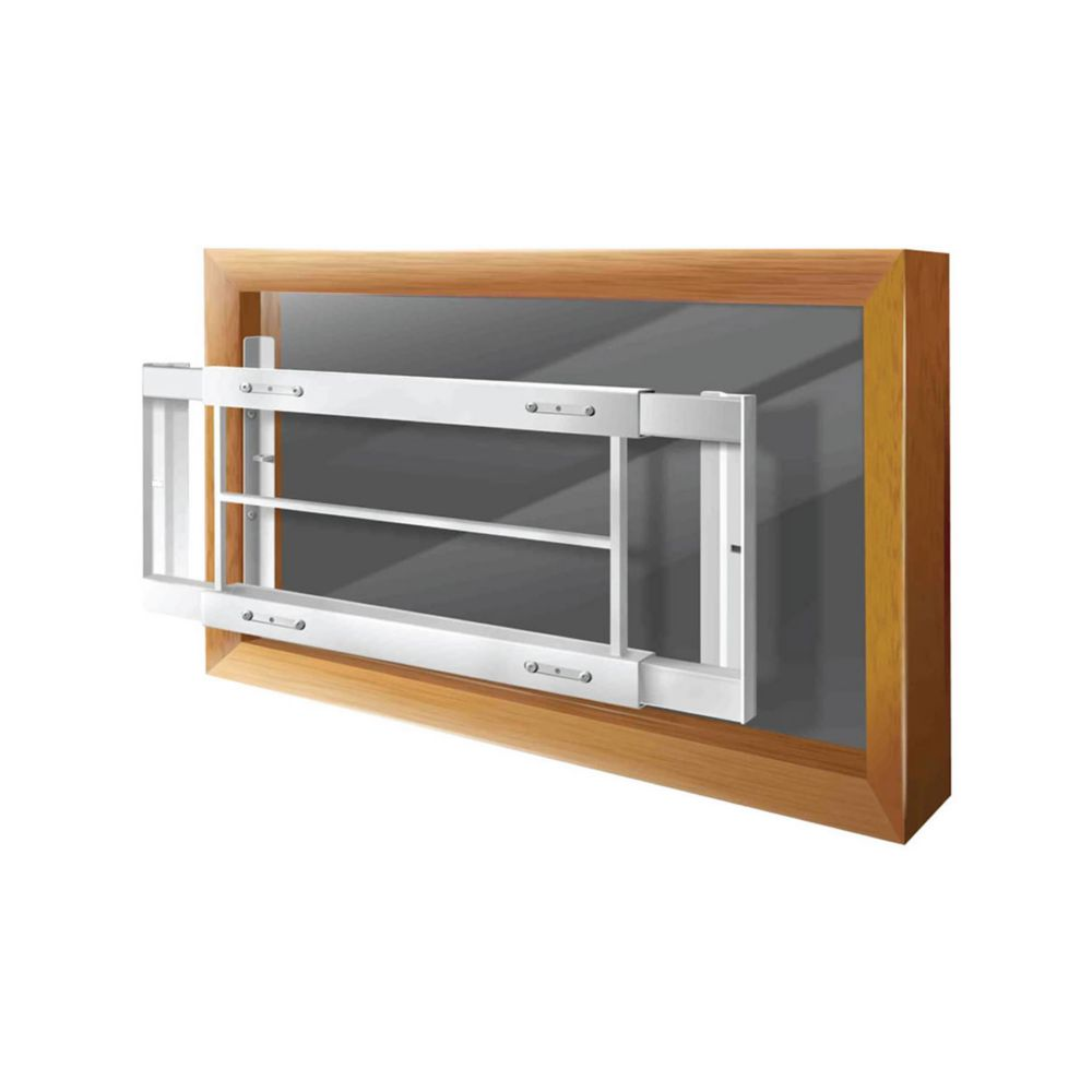 203 C 21-inch to 28-inch W Removable Window Bar