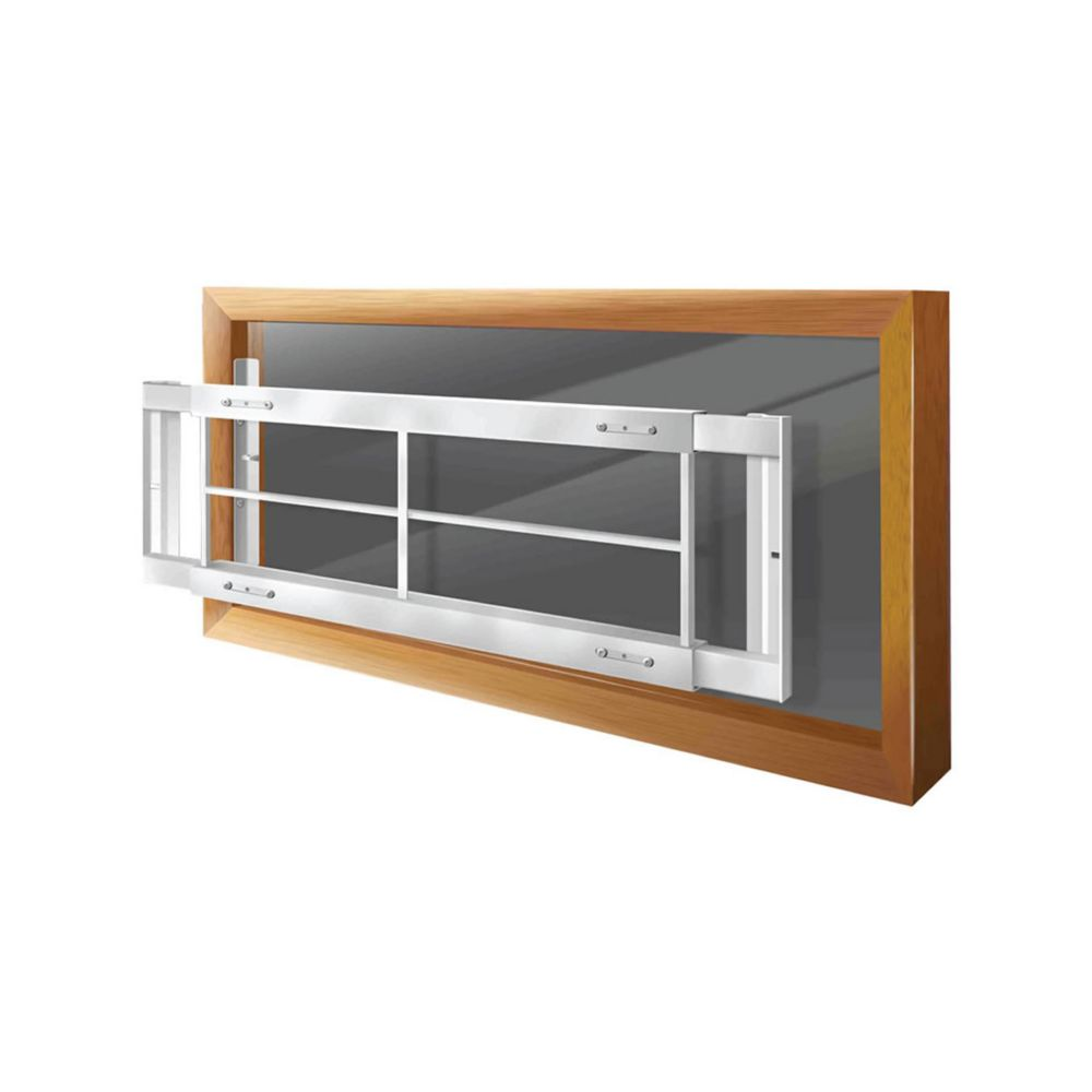 203 C 42-inch to 54-inch W Removable Window Bar