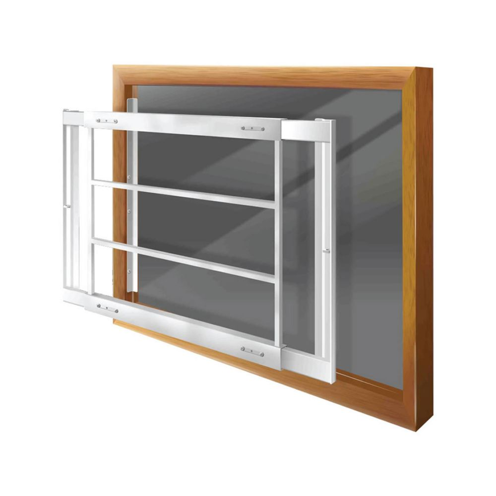 203 D 29-inch to 42-inch W Removable Window Bar
