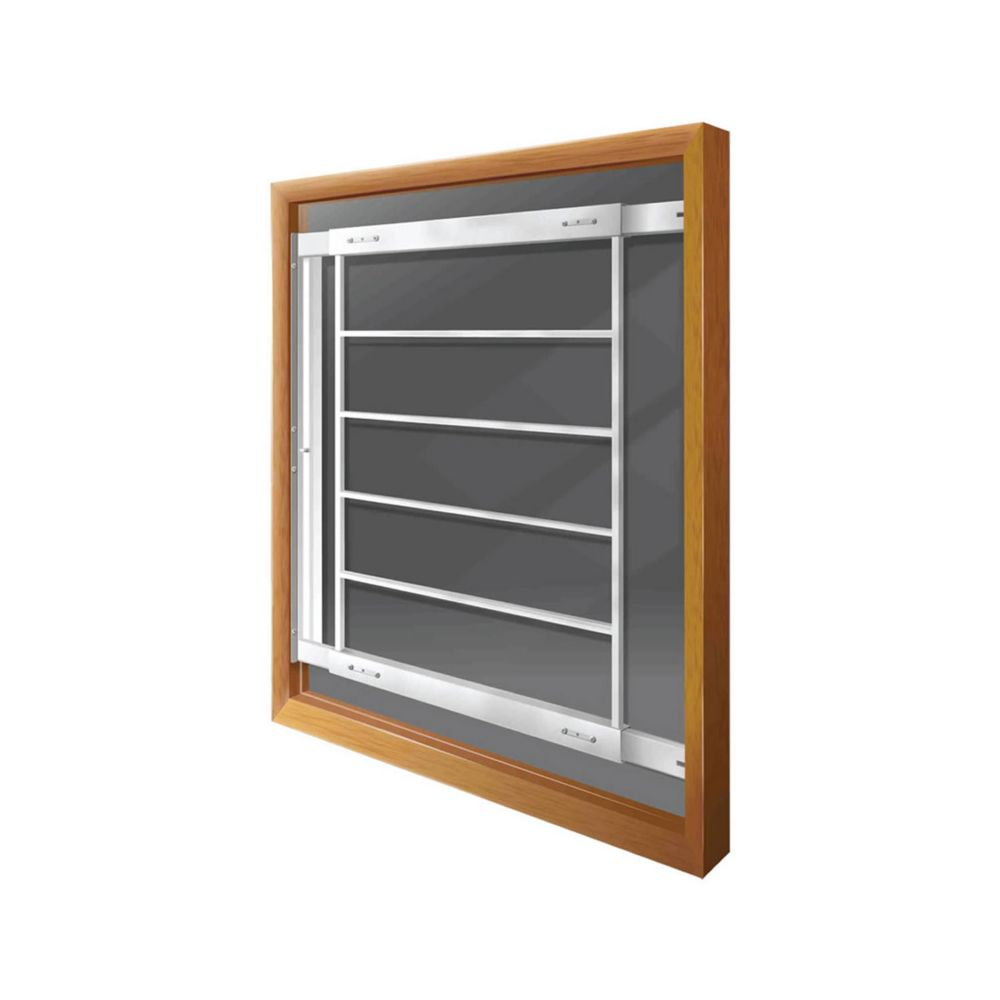 202 E Hinged Window Bar Fits windows 21-28 In. wide and 31-43 In. high