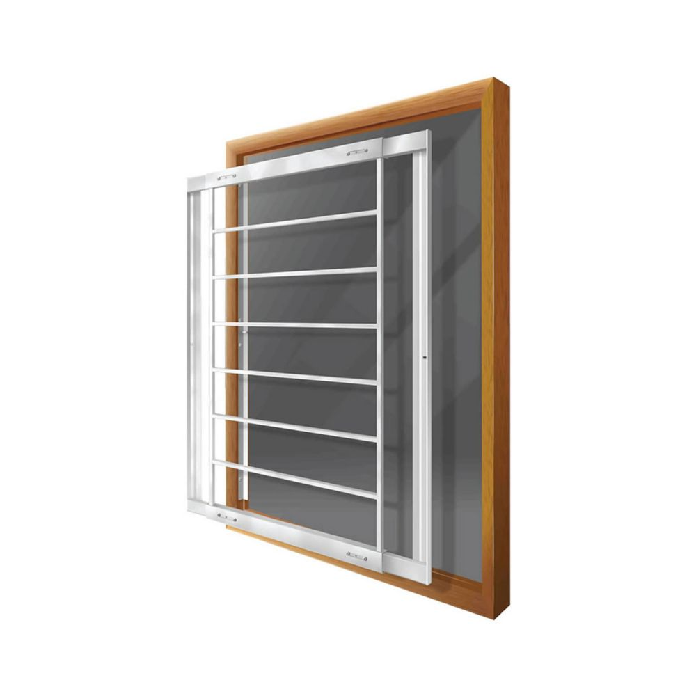 203 E Removable Window BarFits windows 29-42 In. wide and 31-43 In. high