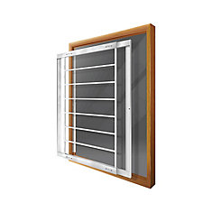 203 E 29-inch to 42-inch W Removable Window Bar
