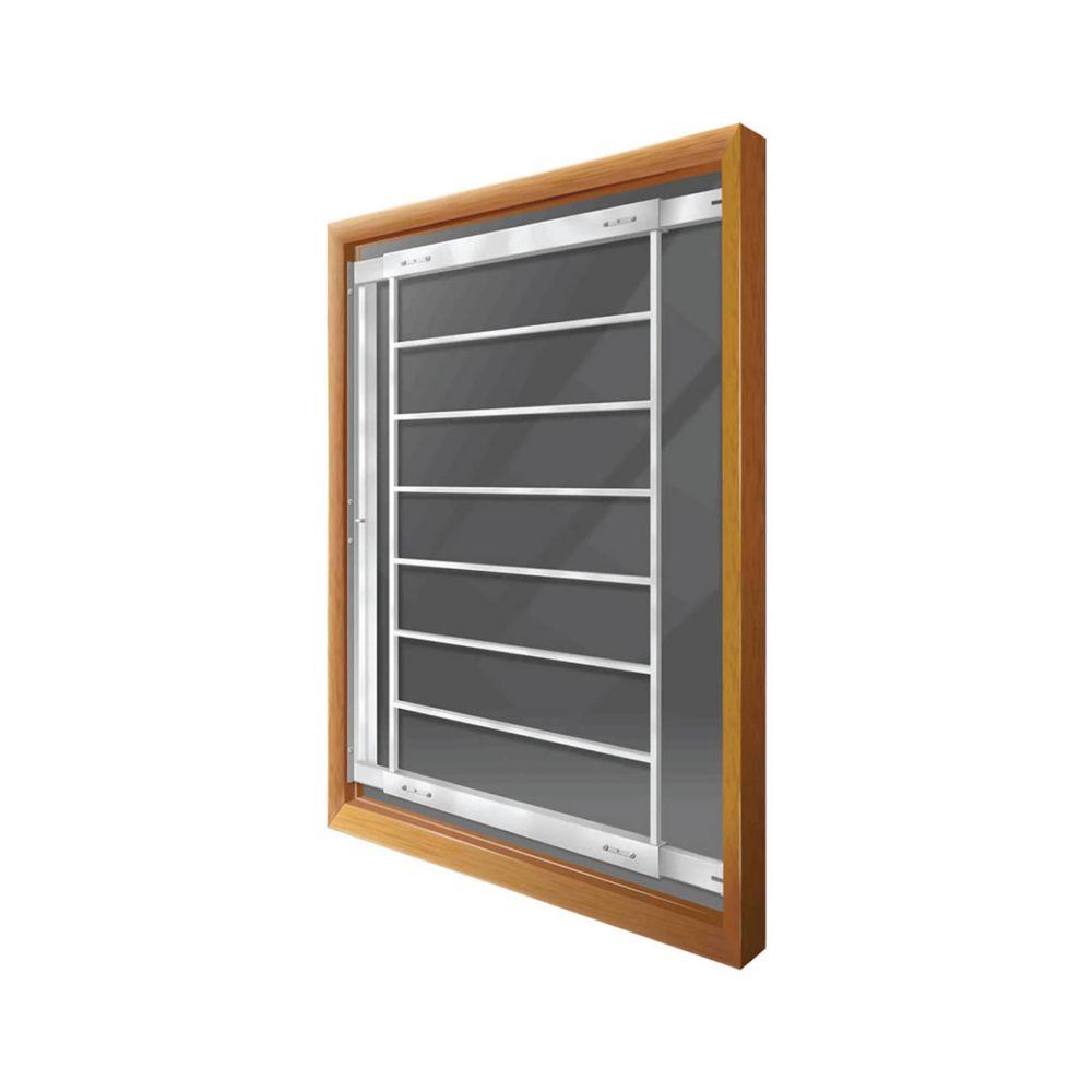 202 F 29-inch to 42-inch W Hinged Window Bar