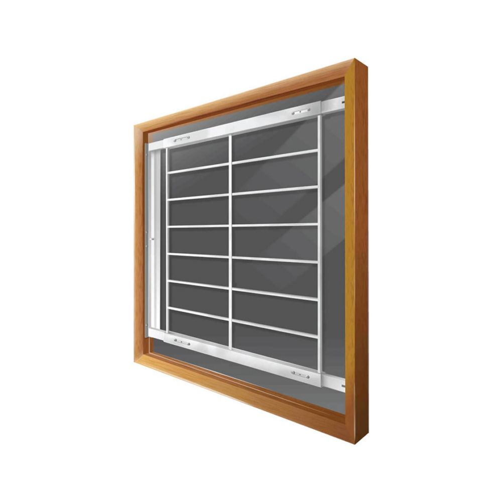 202 F 42-inch to 52-inch W Hinged Window Bar