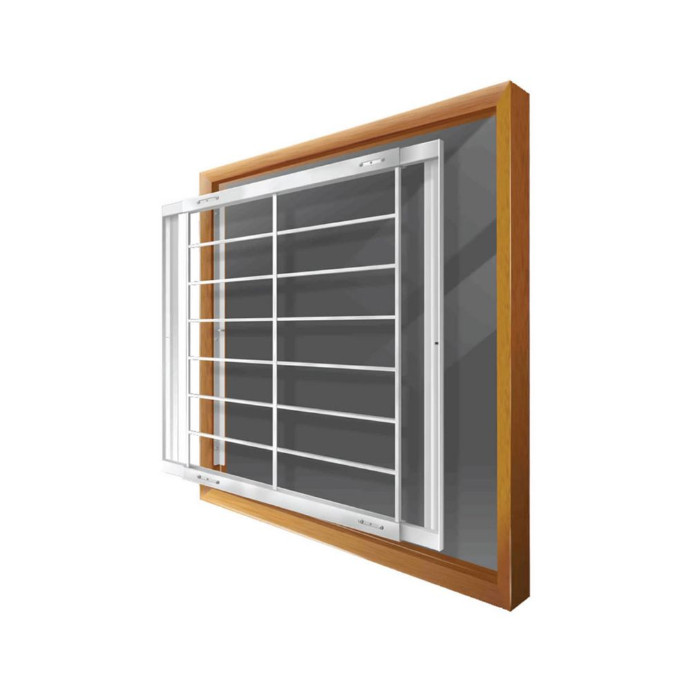 Home Depot Burglar Bars : Mr goodbar f inch to w removable window